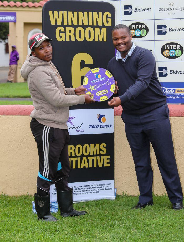 Grooms Initiative Winner - 22nd December 2019 - Race 7 - Sergio Barros - ROBBERG EXPRESS