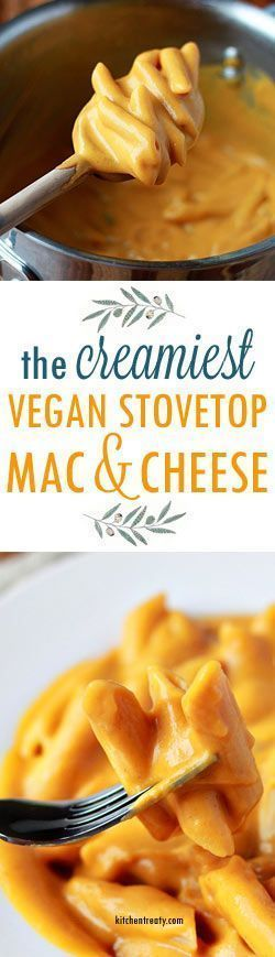 "SUPER CREAMY VEGAN STOVETOP MAC & ""CHEESE"""