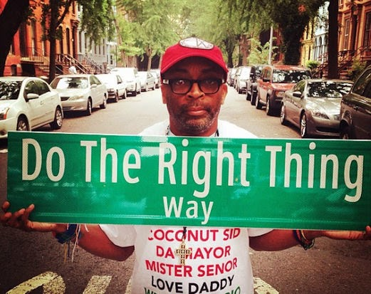Bed-Stuy has named a street after Do the Right Thing to celebrate the film's 25th anniversary. Glad it was that and not 'Soul Plane Ave.'