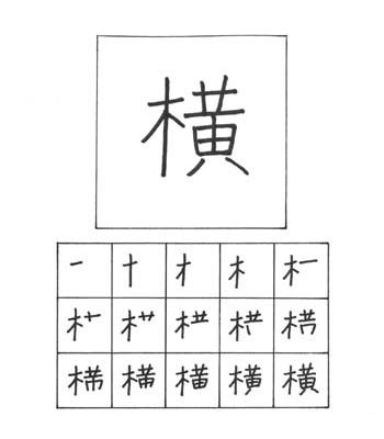 kanji samping