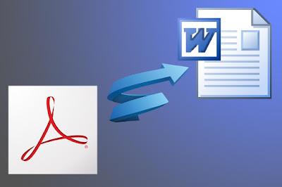 شرح تحويل ملفات ال PDF الى Word بكل سهولة