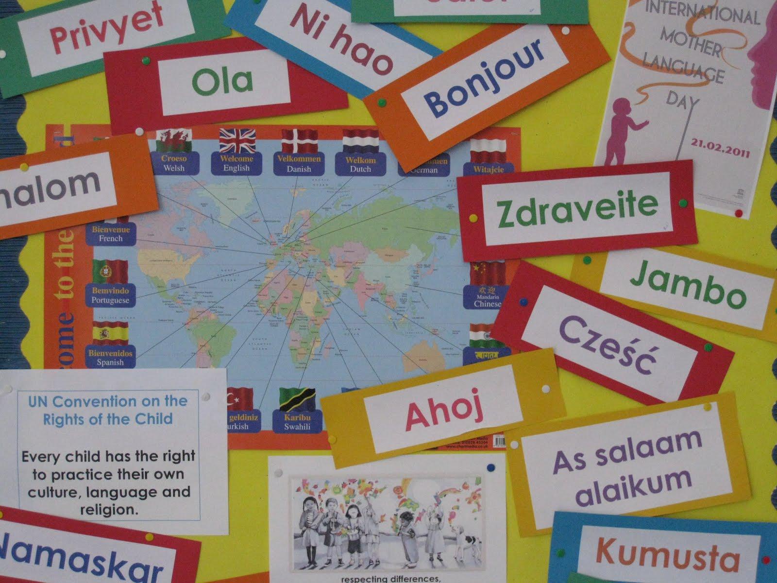 Pourquoi Pas International Mother Language Day