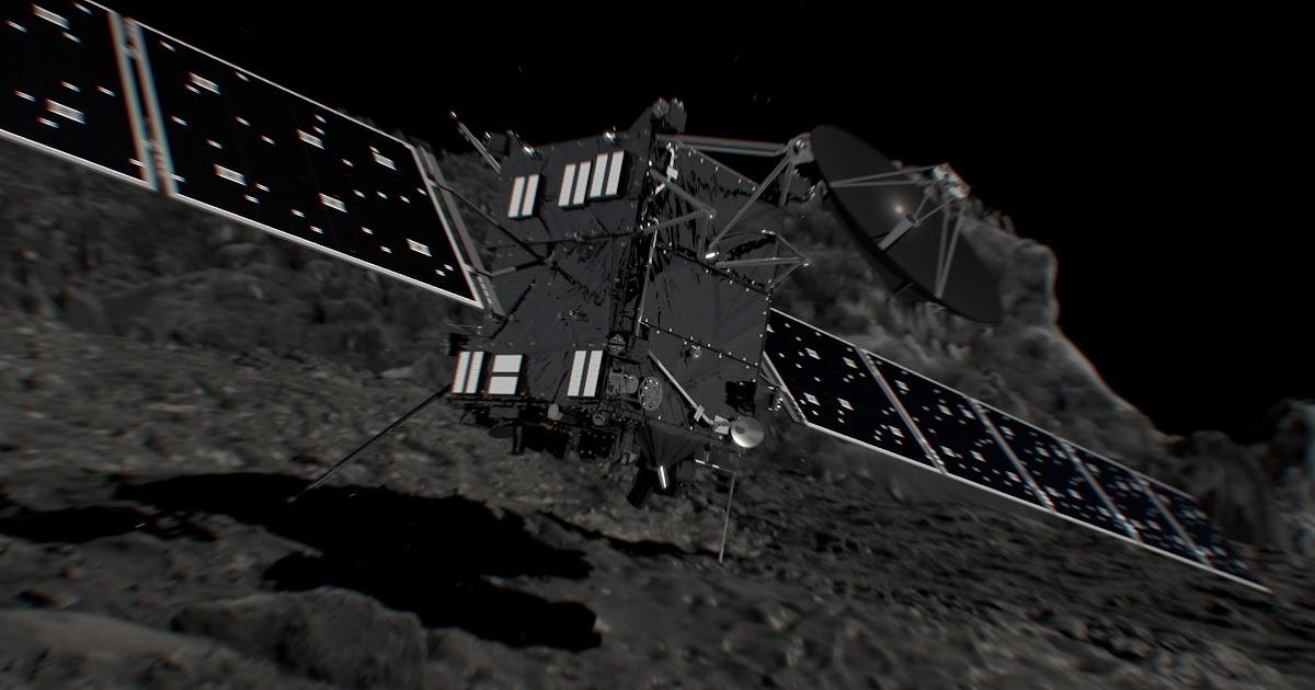 Rosetta, assistiamo in diretta alle fasi dell'impatto sulla cometa 67P/Churyumov–Gerasimenko