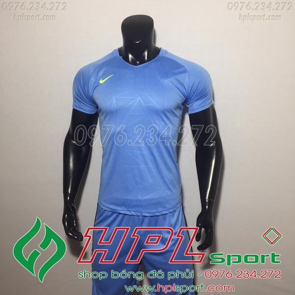 Áo bóng đá không logo Nike HHP Pro Màu xanh ngọc