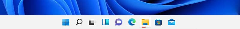 Slightly red backplate of app icon and red pill under the icon signify a background activity needs your attention