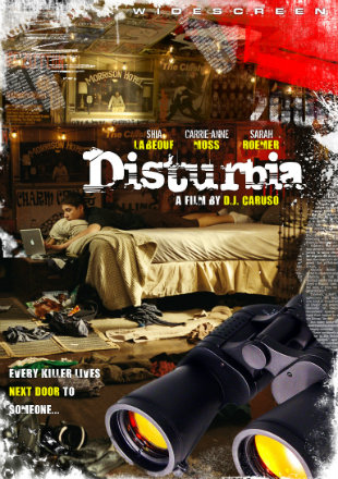 Disturbia 2007 BRRip 300Mb Hindi Dual Audio 480p Watch Online Full Movie Download bolly4u