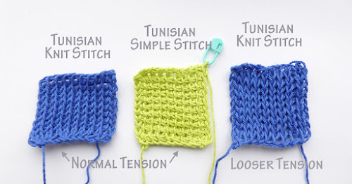 Tension Control. An advantage for stitch substitution.