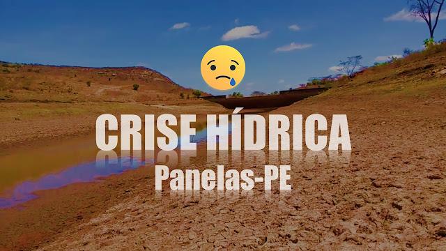 Crise hídrica no município Panelas-PE