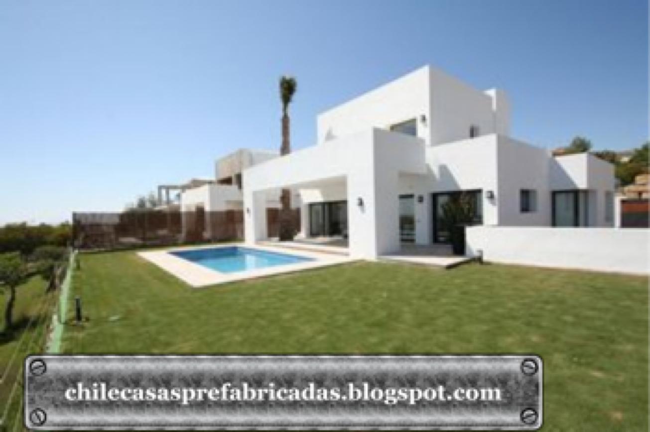 Casas de madera prefabricadas casas prefabricadas chile for Casas prefabricadas mediterraneas