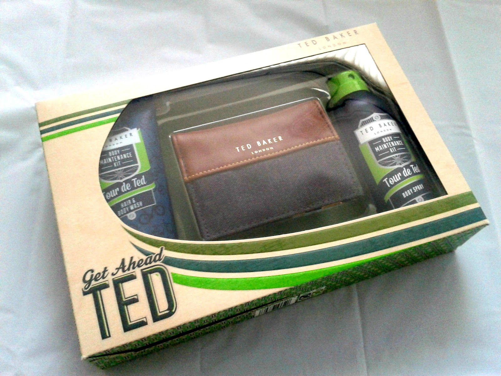 Ted Baker Get Ahead Ted Set Christmas