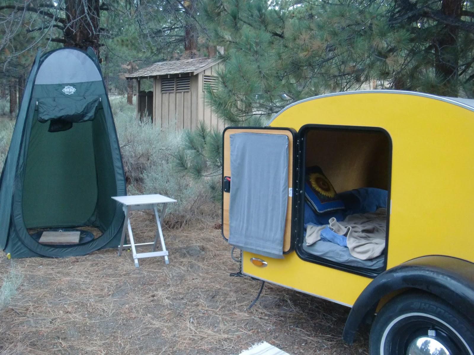 teardrop trailer with bathroom