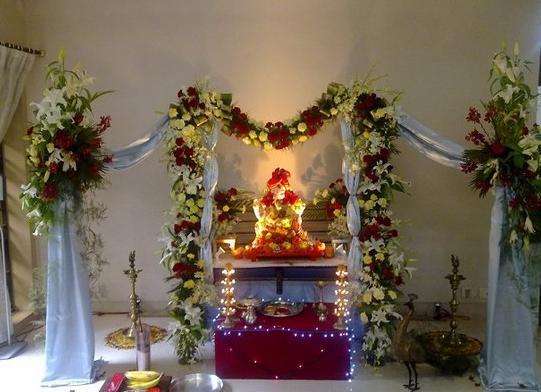 Amazing Ganesha Decoration Ideas For Ganesh Chaturthi Festival With Images Ganesh Chaturthi