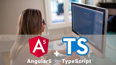 Learn all features of Angular (with TypeScript) and eventually perform CRUD operations using Angular and Web API