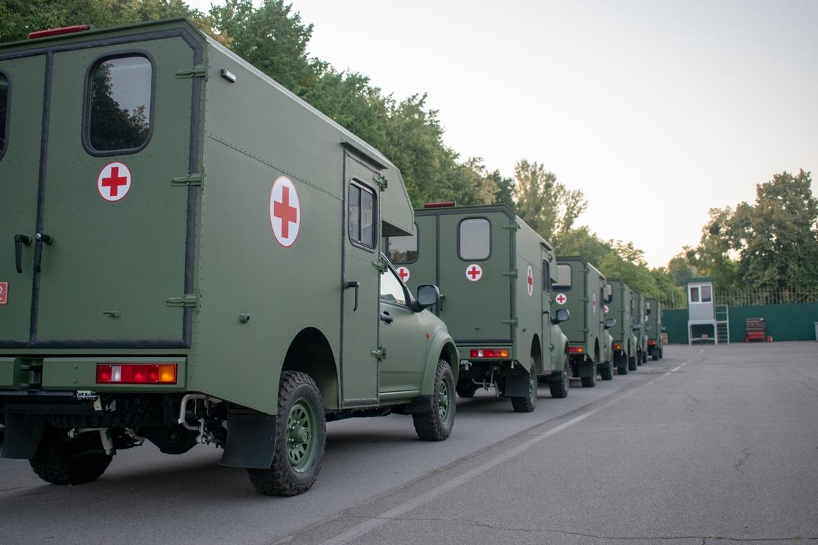 Богдан достроково виконав замовлення на санітарні машини