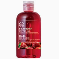 [The Body Shop] Gel douche à la fraise