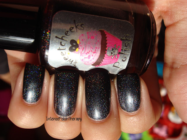 $weetcheeks Polish - Black Ice