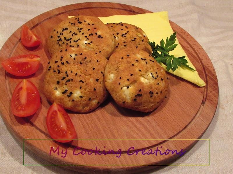Здравословни добруджанки с брашно от нахут * Panini con farina di ceci