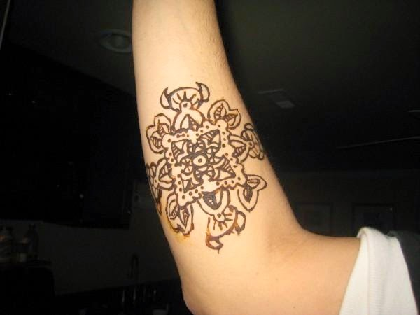 Henna Tattoo Inside Arm: Simple Henna Tattoo Designs For Wrist