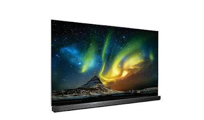 LG OLED TV Brings You The Aurora Borealis