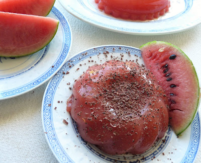 Sicilian Watermelon Pudding (Gelo di Anguria)