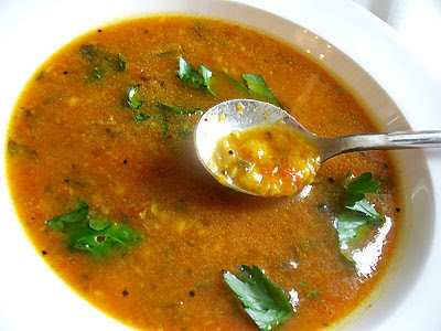 Spicy Yellow Lentil Soup