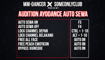 Cheat Ayodance Auto Sewa 6168