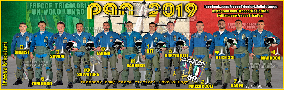Frecce Tricolori Calendario 2020.Frecce Tricolori Un Volo Lungo Calendario Manifestazioni 2019