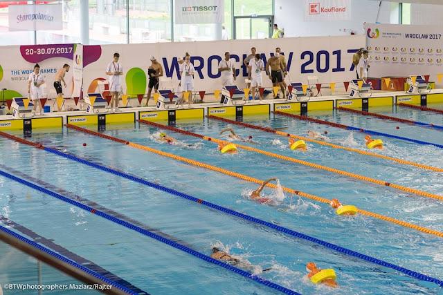 El Salvamento dio oros a Italia y Alemania en los Juegos Mundiales de Breslavia 2017