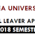 2018 Undergraduate Application From - Papua New Guinea University of Technology (PNG Unitech)