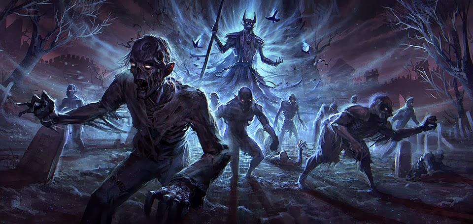 The Elder Scrolls Online - Lich concept