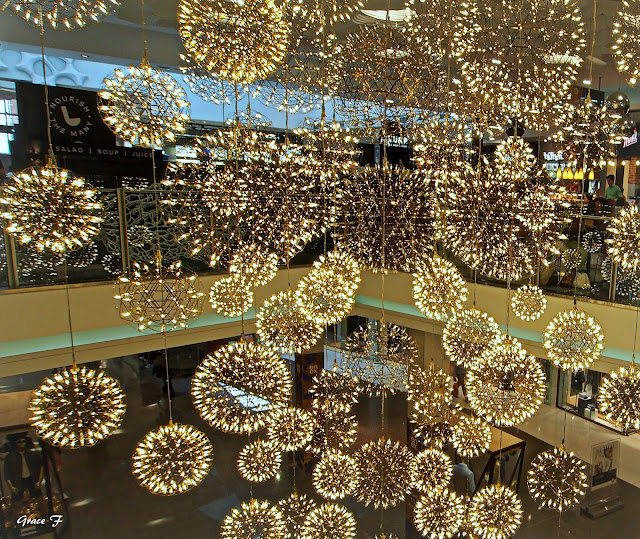 big sale 4a26f 63faa Perth Daily Photo : Everything sparkles under a chandelier..