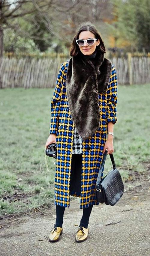check coat trend