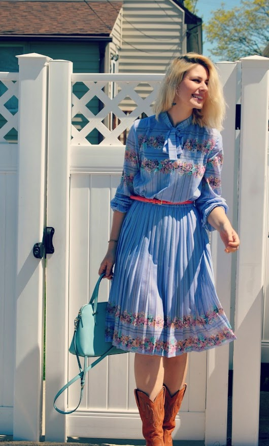 What I Wore: Sheer Vintage Dresses Edition