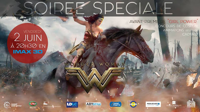 wonder woman soirée girl power