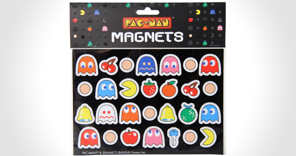Pac-Man Magnets Set