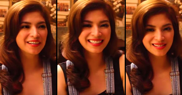 Angel Locsin Revealed 'Saan Siya Pinaglihi Ng Nanay Niya' And You'll Be Mind-Blown On Her Answer!