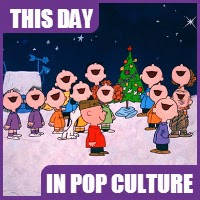 """A Charlie Brown Christmas"" airs for the first time on December 9, 1965."