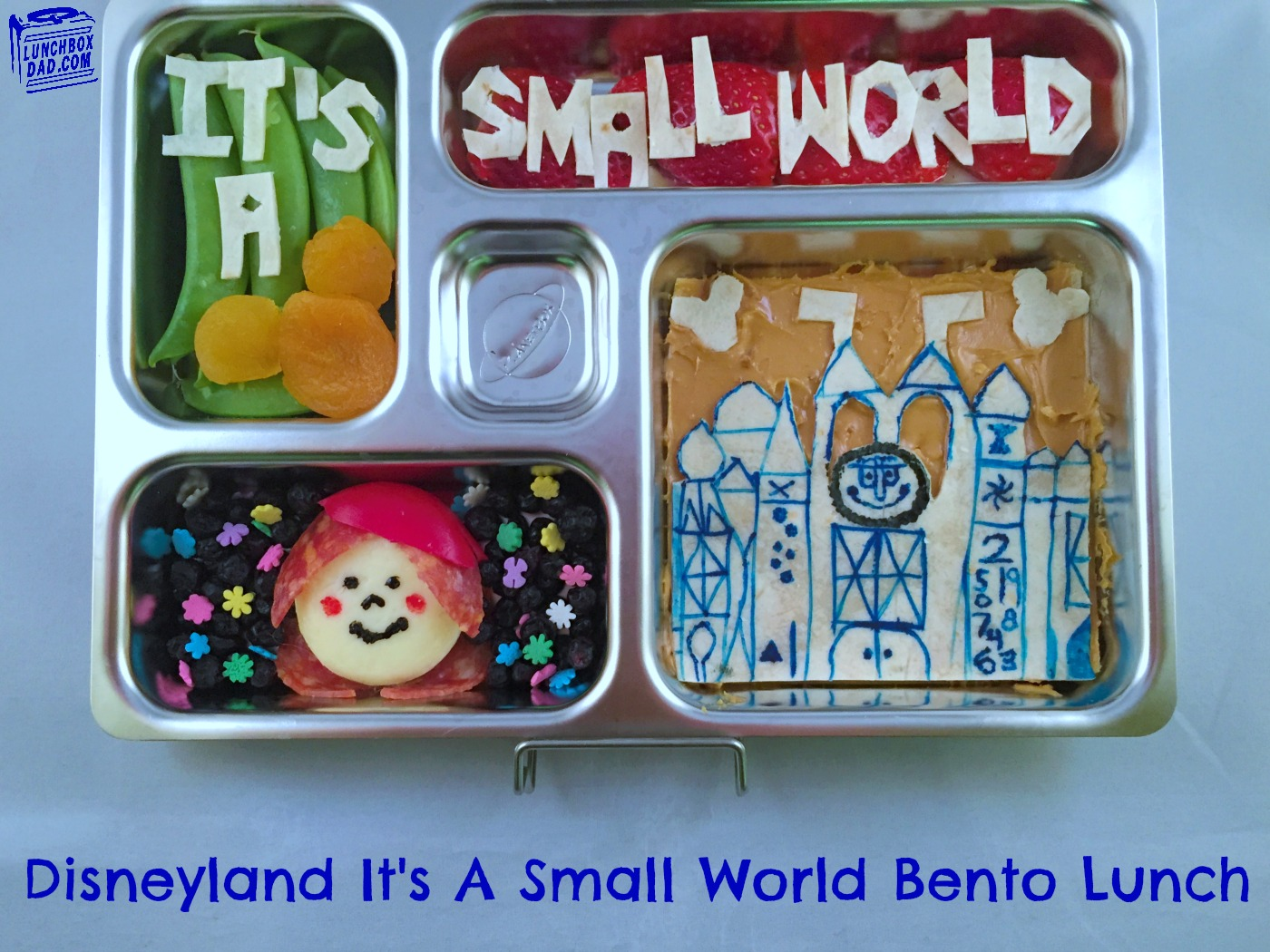 Disneyland It's a Small World Bento Lunch #Disneyside