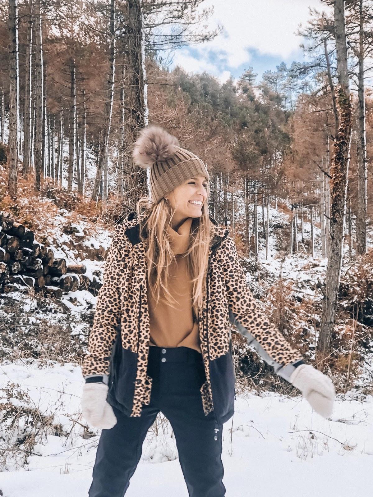 a la nieve con estilo