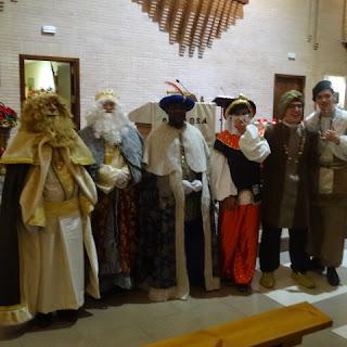 Los Reyes Magos en nuestra parroquia
