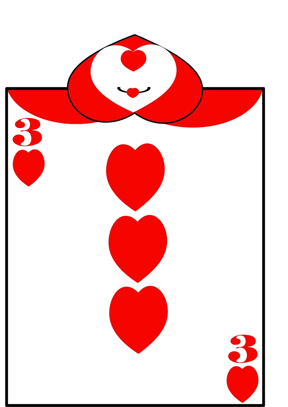 Alice in Wonderland Card Soldiers - Free Printables