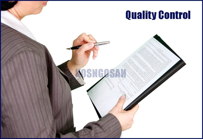 Contoh Laporan Quality Control