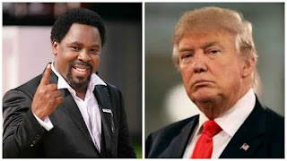 On Trump's Second day in office TB Joshua Speaks About His Prophecy on US Presidency