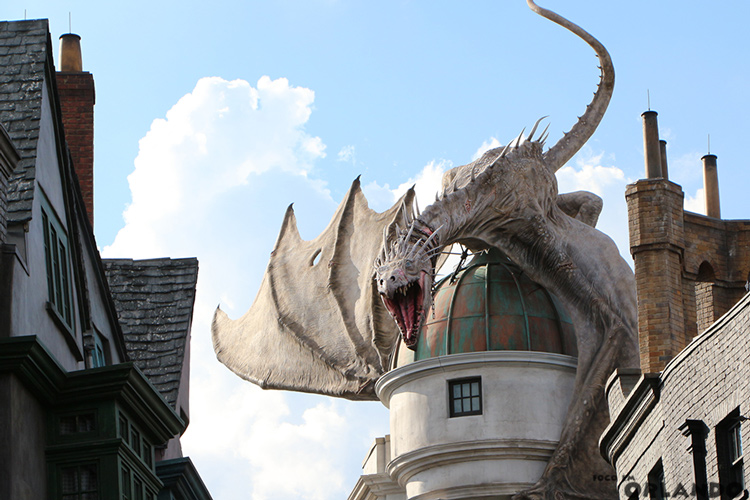 Harry Potter and the Escape from Gringotts, Universal Studios Florida, Orlando