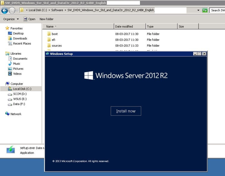Systems Inside: Upgrade In-Place SCCM 2012 R2 - WIndows