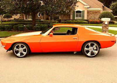 1973 Chevrolet Camaro Z28 2-Door Coupe Side Left