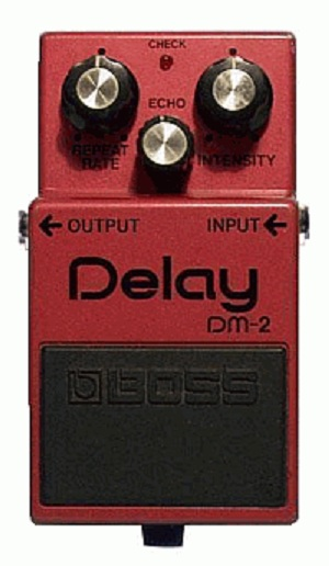 Fig 1 Boss Dm2 Delay Guitar Pedal Schematic Diagram