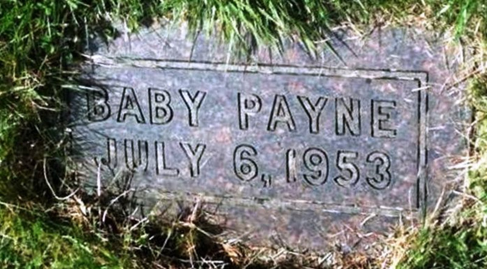 BABY PAYNE - IN HONOR TO MY LITTLE INFANT BABY SISTER