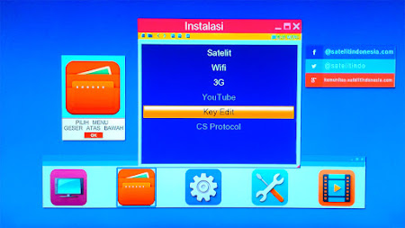 Kode Rahasia Skybox A1 Memunculkan Key Editor