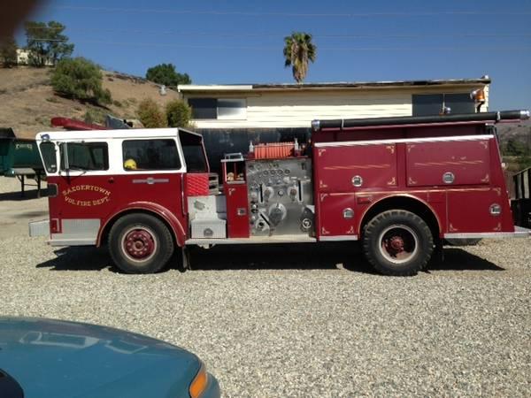 1968 American-Lafrance Fire Truck - Old Truck